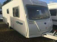 Bailey ranger 550/6 2008 6 berth rear bunk beds touring caravan
