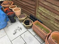 Terracota / Clay / Glazed Garden plant pots