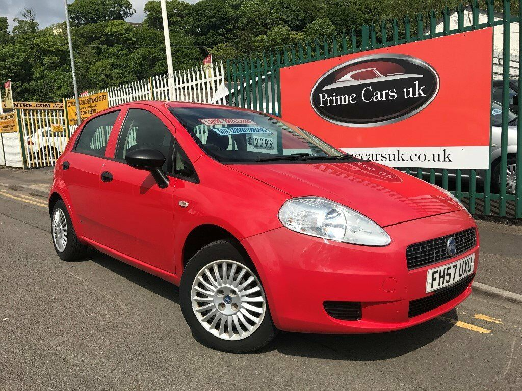 2007 (57 reg) Fiat Punto 1.2 8v Active 5dr Petrol 5 Speed Manual Low