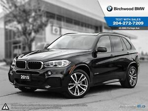 2015 BMW X5 Xdrive35d M-Sport! 7-Passenger 3rd Row Seating!