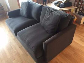 Habitat Colin 2 seater sofa, As new, £250 (retail at £1200)