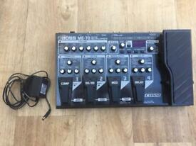 Boss ME-70 Guitar Effects Multi Processor