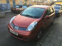 2007 Nissan Note Diesel Good and Cheap Runner with history and mot