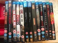 Blu rays x13