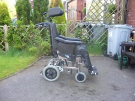ID TILT IN SPACE WHEELCHAIR