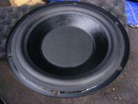 """8.25"""" Subwoofer speaker 3 ohms"""