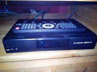 Cloud ibox II freeview satellite receiver