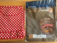 PAWS all weather dog coat