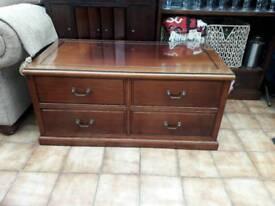 Rose wood tv cabinet