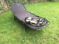 Fishing bed chair plus spares
