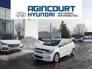 2013 Hyundai Accent GLS/SUNROOF/HEATED SEATS/OFF LEASE/ONLY 3744