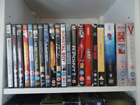 Over 100 DVDs very good condition like new
