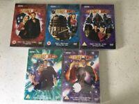 5 x Dr Who DVD's - 3 x Ecclestone / 2 x Tennant & Billie Piper