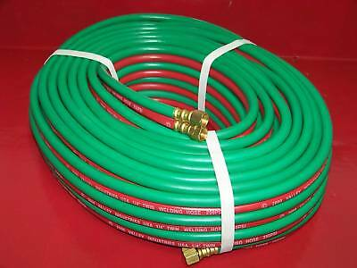 100 Ft 14 Id Oxygen And Acetylene Twin Welding Hose Victor Harris Compatible