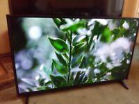 SHARP 40 LED TV (40AJ6KE) SMART/UHD 4K/WIFI/MEDIA PLAYER/SLIM/FREEVIEW HD