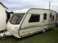 Abbey GTS Vogue 517 Caravan - 5 Birth - L Shaped Lounge - Motor Mover