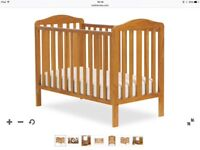Mothercare Darlington cot antique used, good condition. .