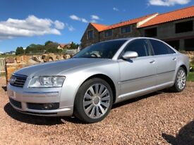 Audi A8 2004 3.0tdi V6 Quattro LOW MILES and FULL SERVICE HISTORY
