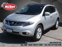 2012 Nissan Murano SL AWD -V6, Leather, Sunroof, DVD