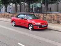 2002 Peugeot 306 Cabriolet, One Lady Owner from New, Long MOT, Low Miles!