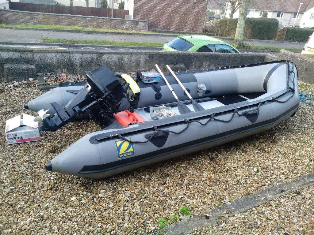 Zodiac Grand Raid Mk2 Military Rib Boat In Plymouth
