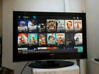"""Samsung 42"""" Smart Plasma TV FreeView Built In 3 HDMI HD Ready 720p Others Available"""