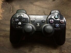 3 PS3 Wireless Controllers used. (COLLECT ONLY)