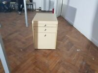 Under desk 3 drawer/pedestal in beech 10 available, £60 each