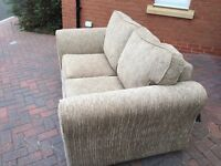 2 seater and 3 seater furniture village sofas