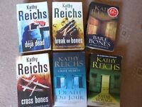 Kathy Reichs books x 6 bundle