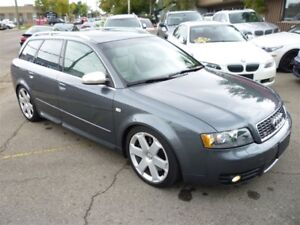 2004 Audi S4 4.2 Avant QUATTRO/LEATHER/SUNROOF/ALLOYS