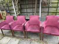 Occasional Lounge Chairs x4
