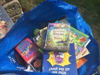 Kids books - boys/girls aged baby to 10 ish
