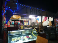 ice cream and bike rental buisness for sale in south of france marseillan plage
