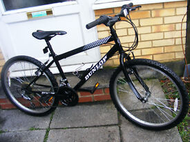 """SMALL MANS MOUNTAIN BIKE IN GREAT WORKING ORDER 24"""" WHEEL 15"""" FRAME"""