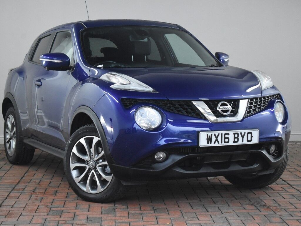 nissan juke 1 5 dci tekna 5dr blue 2016 in winsford. Black Bedroom Furniture Sets. Home Design Ideas