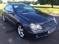 This CLK 320 AUTO AVANTGARDE, SatNav, LOW MIKES 66000, Heated Memory Seats etc
