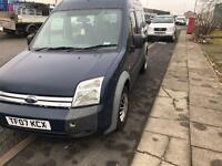 2007 07reg Ford Transit Connect Tourneo 1.8 Tdci 8 Seater Blue Rare