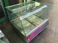 CATERING COMMERCIAL HOT FOOD COUNTER TOP DISPLAY CABINET CUISINE COMMERCIAL KITCHEN CAFE TAKE AWAY
