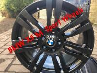 4 X GENUINE BMW 333M X5 X6 Alloy Wheels