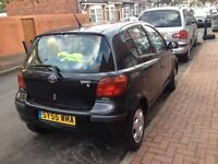 Toyota Yaris , automatic,1 litter,55 plate, 5 door, 12month mot and tax
