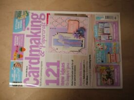 150 issues ofCardmaking & Papercraft magazines, ideal craft club