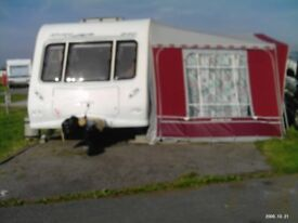 isabella 980 caravan awning (extended bedroom also available)