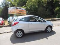 Ford ka style new shape £30 pound tax a year millage has been changed, total 95999