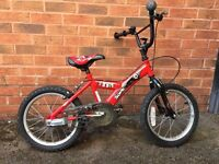 "14"" Bike for Boy kids SONIC Red Colour"