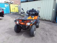 Inported in 2015 road legal quad v5 reg in sep 15 only coverd 750 miles