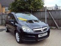 Vauxhall Zafira Club – 7 Seater – With Vauxhall Main Dealer History – 1 Former Keeper - £2,299