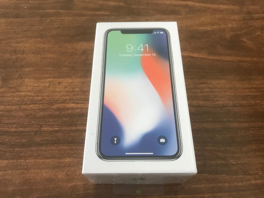 Apple Iphone X Space Grey 64gb Brand New Unlocked In Grangetown