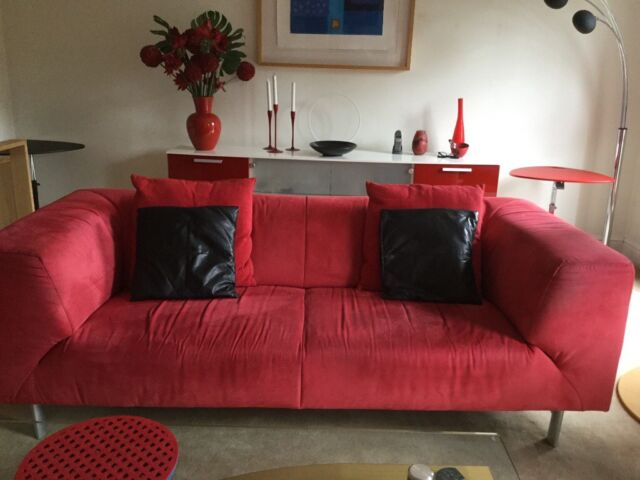 Contemporary red sofa   in Oxford, Oxfordshire   Gumtree