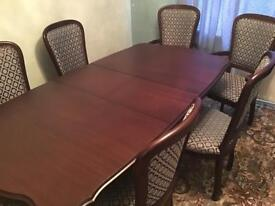 Rossmore furniture table chairs plus